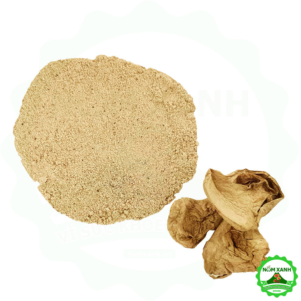 bột nấm rơm