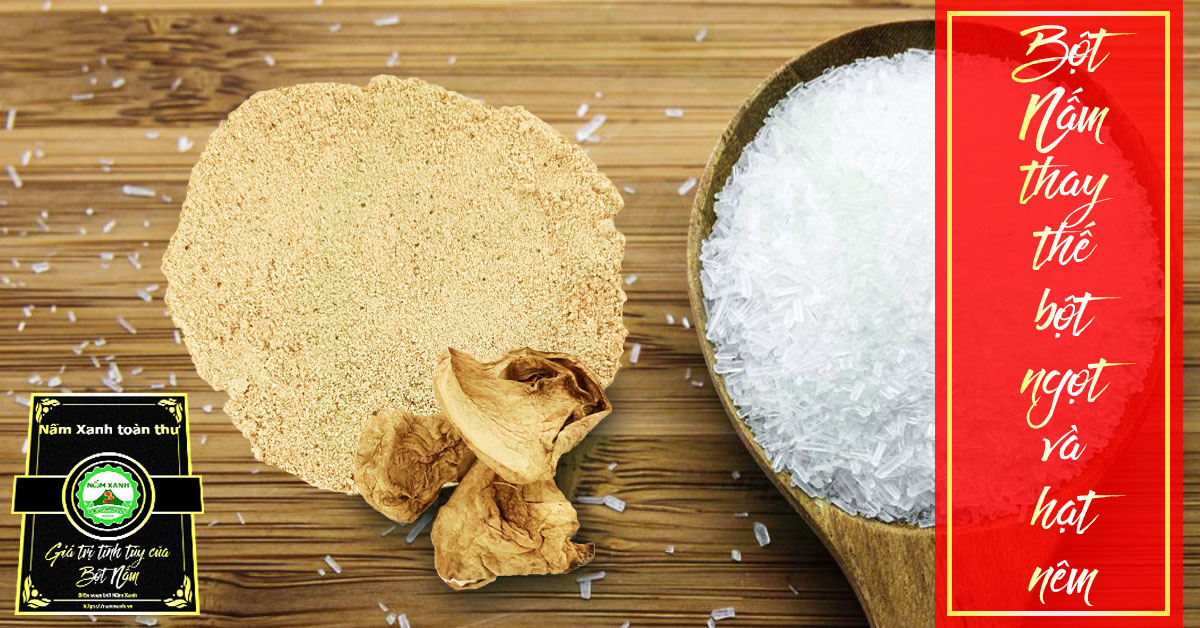 bột nấm