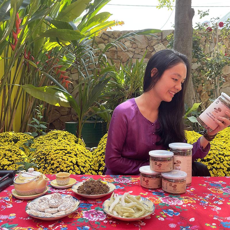 Món ăn ngày Tết - Chà Bông Nấm Hương