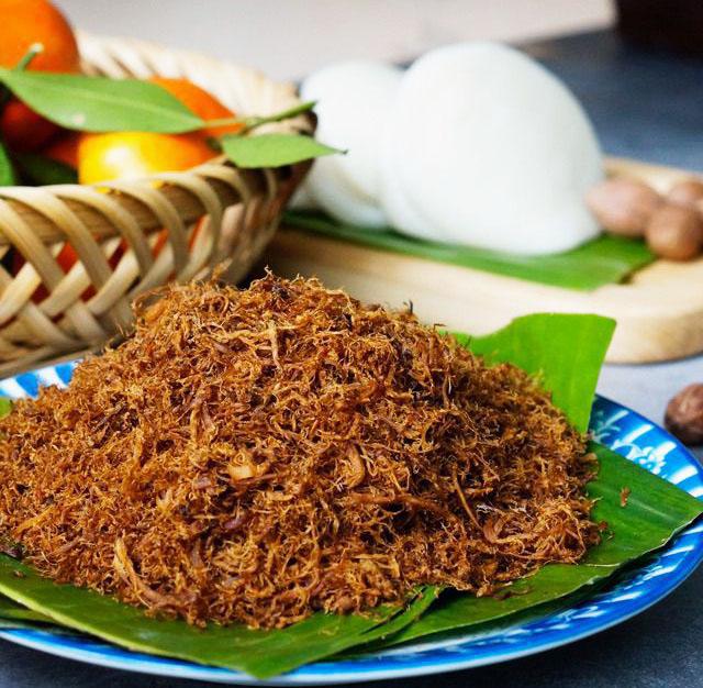 cách làm ruốc nấm hương từ chân nấm hương khô bằng cách nấu