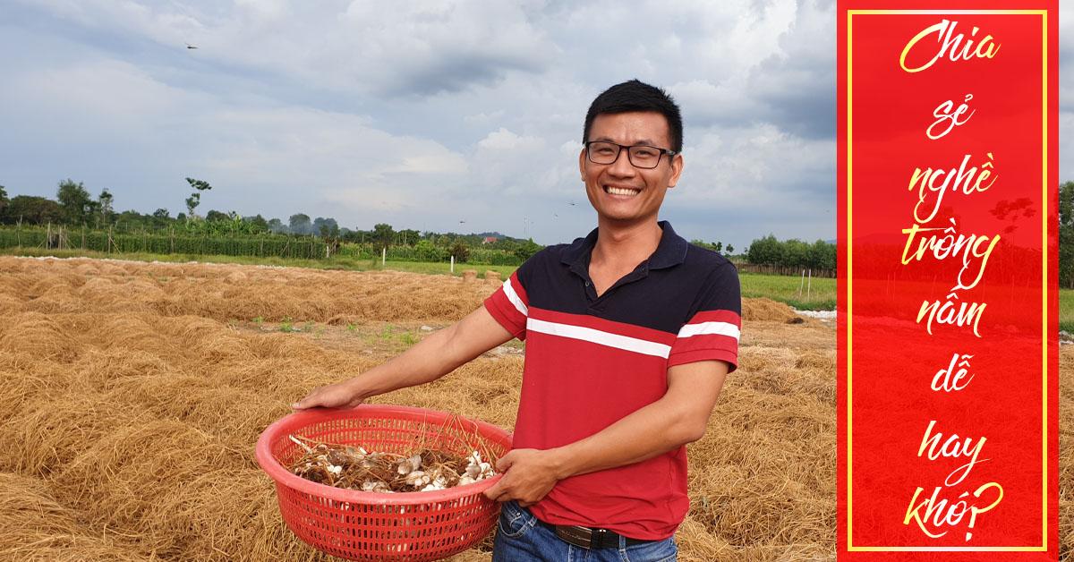 trồng nấm dễ hay khó