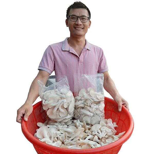 Nguyễn Anh Võ - CEO Nấm Xanh chuyên trồng Nấm Bào Ngư