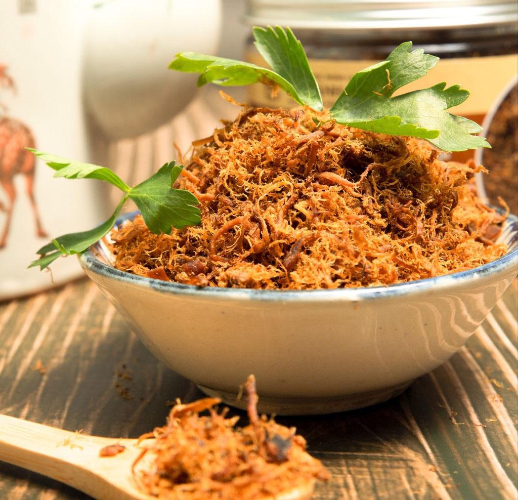 Cách làm chà bông chay từ Nấm Bào Ngư