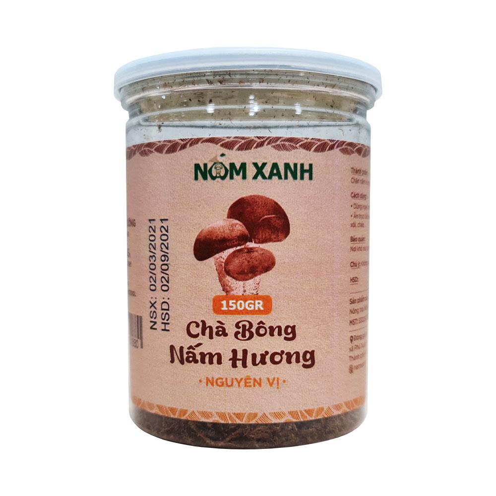 Chà Bông Nấm Hương Nguyên Vị