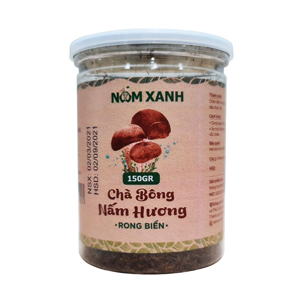 Chà Bông Nấm Hương Rong Biển 150gr