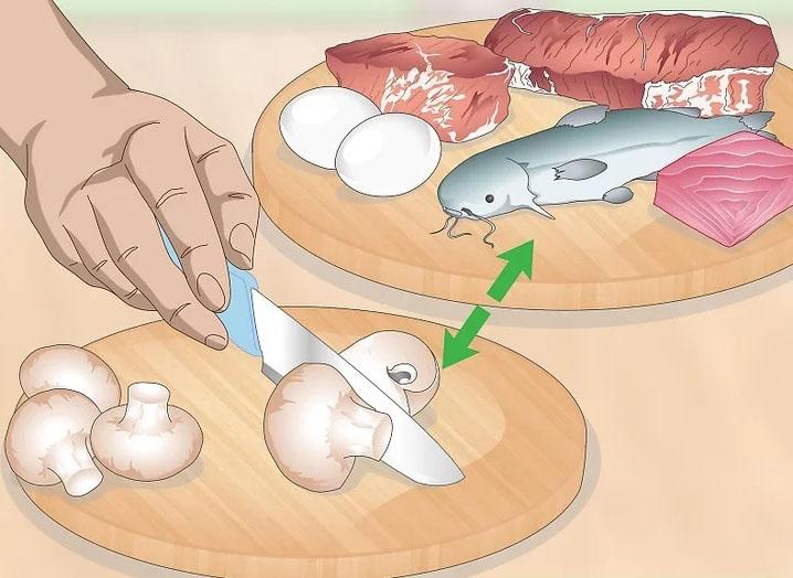 Bảo quản nấm tốt hơn bằng cách không để nấm cùng thịt các loại và chế biến riêng