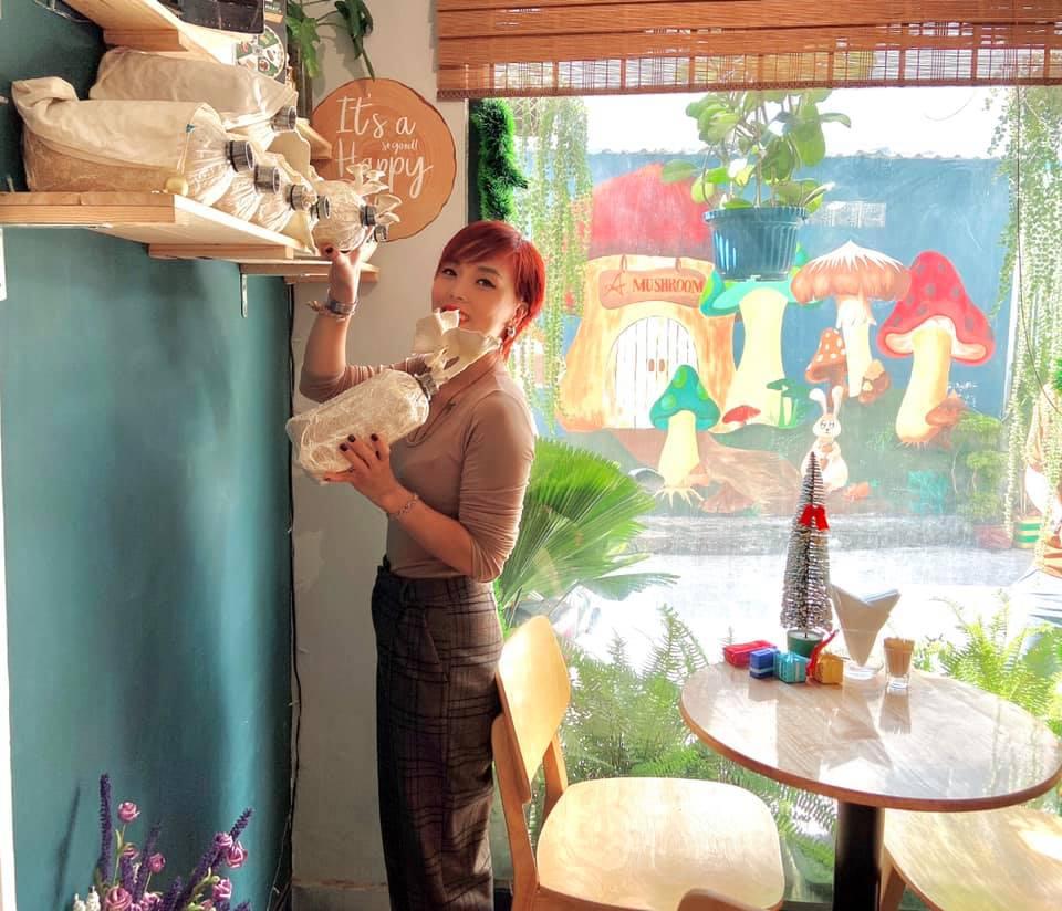 Trồng nấm tại nhà với phôi Nấm Bào Ngư Xám của Nông trại Nấm Xanh